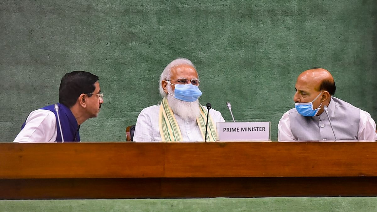 Govt ready for healthy discussion in Parliament on any subject: PM Modi at all-party meet