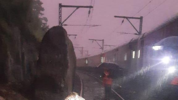 Maharashtra: Konkan Railway suspends train services in Ratnagiri after heavy rains