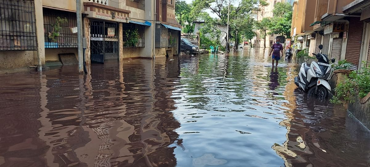 Mira Bhayandar: Heavy rain leaves twin-city waterlogged; see pics