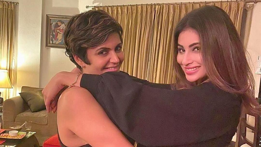 Mouni Roy supports friend Mandira Bedi after Raj Kaushal's demise, says 'my baby strongest'