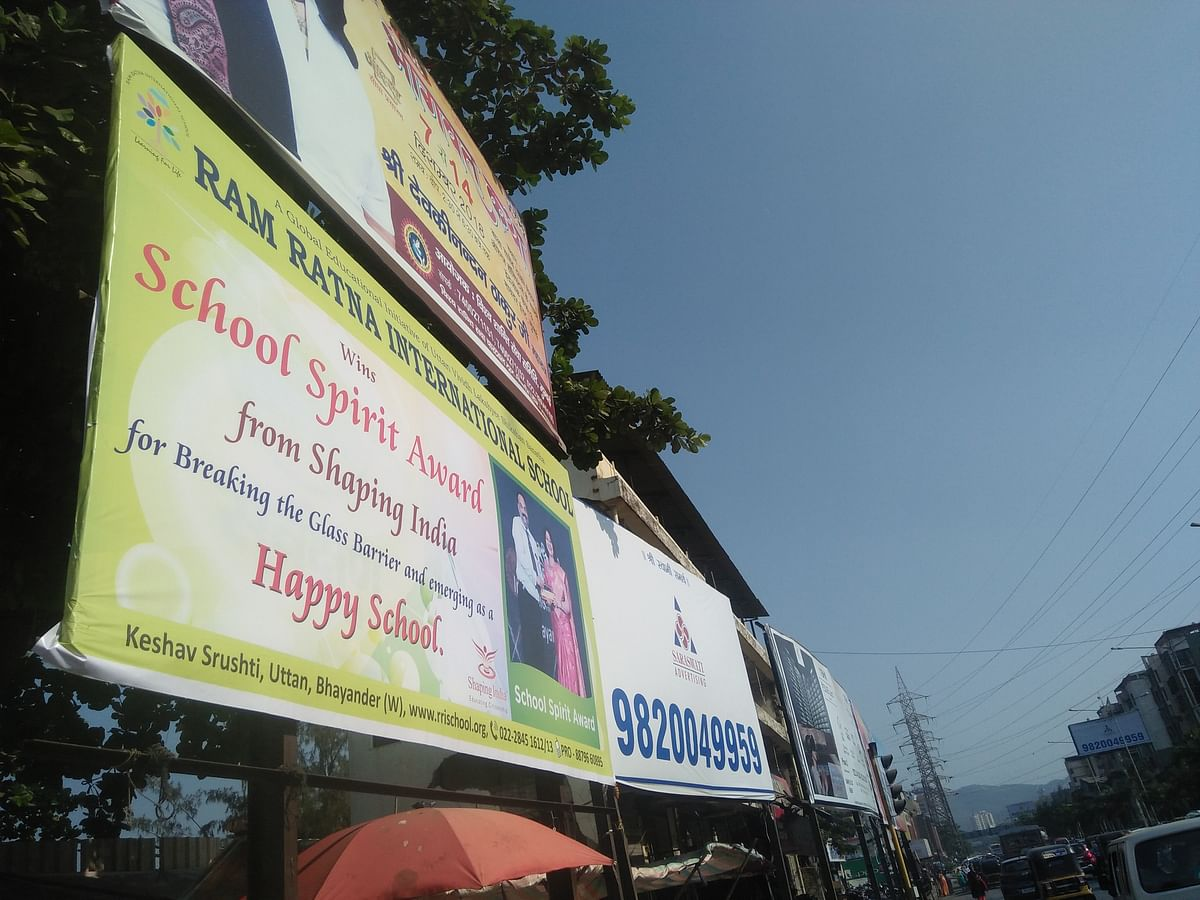Mumbai: Empty coffers, but MBMC goes soft on hoarding defaulters