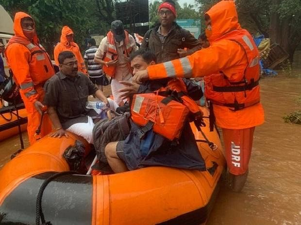 150 NDRF teams engaged in rescue operations in flood, landslide affected areas across India