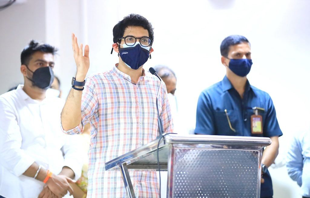'Work for all of us is to go beyond politics': Maharashtra minister Aaditya Thackeray's befitting reply to BJP