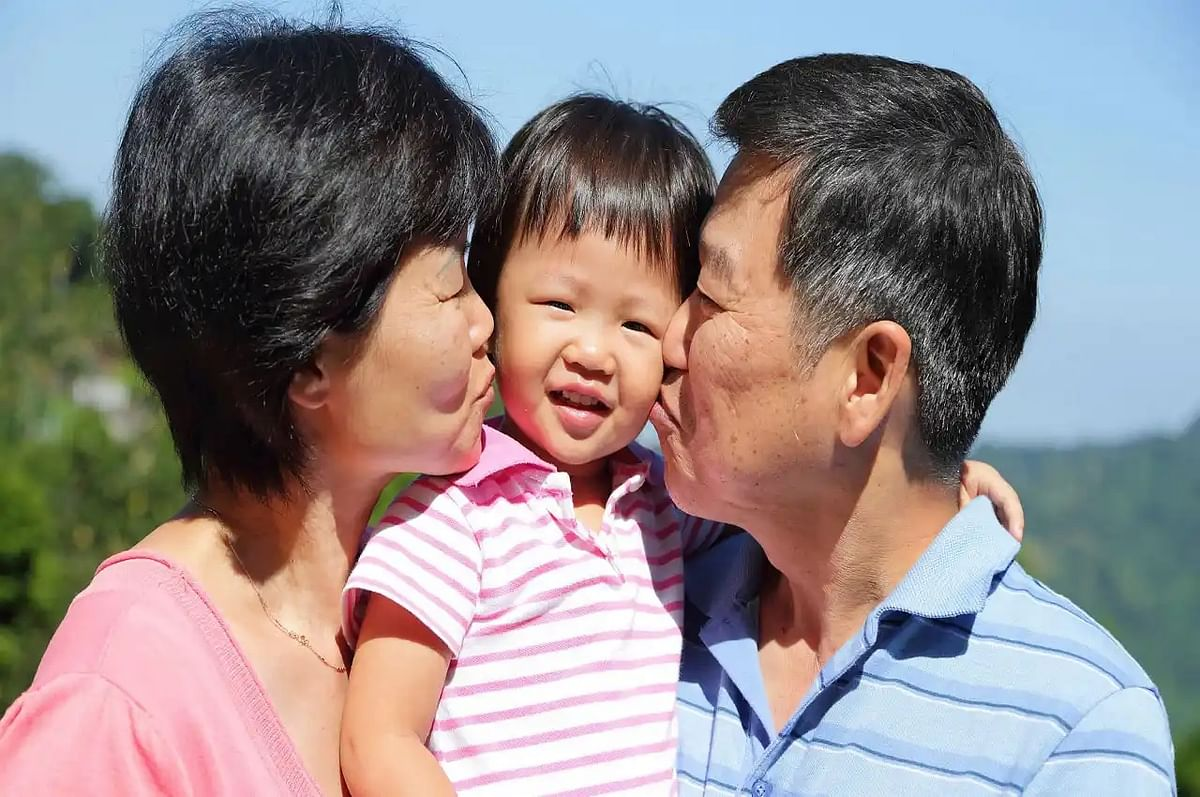 China's one-child policy remained in place for 37 years and was only abandoned when births fell below the replacement rate