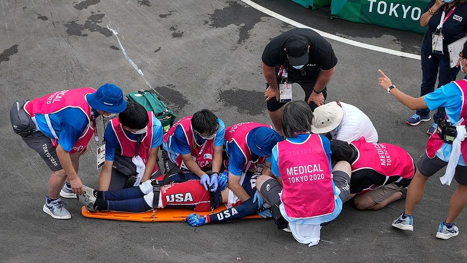 Watch Video   Horrific crash at Tokyo Olympics causes brain hemorrhage to rider Connor Fields