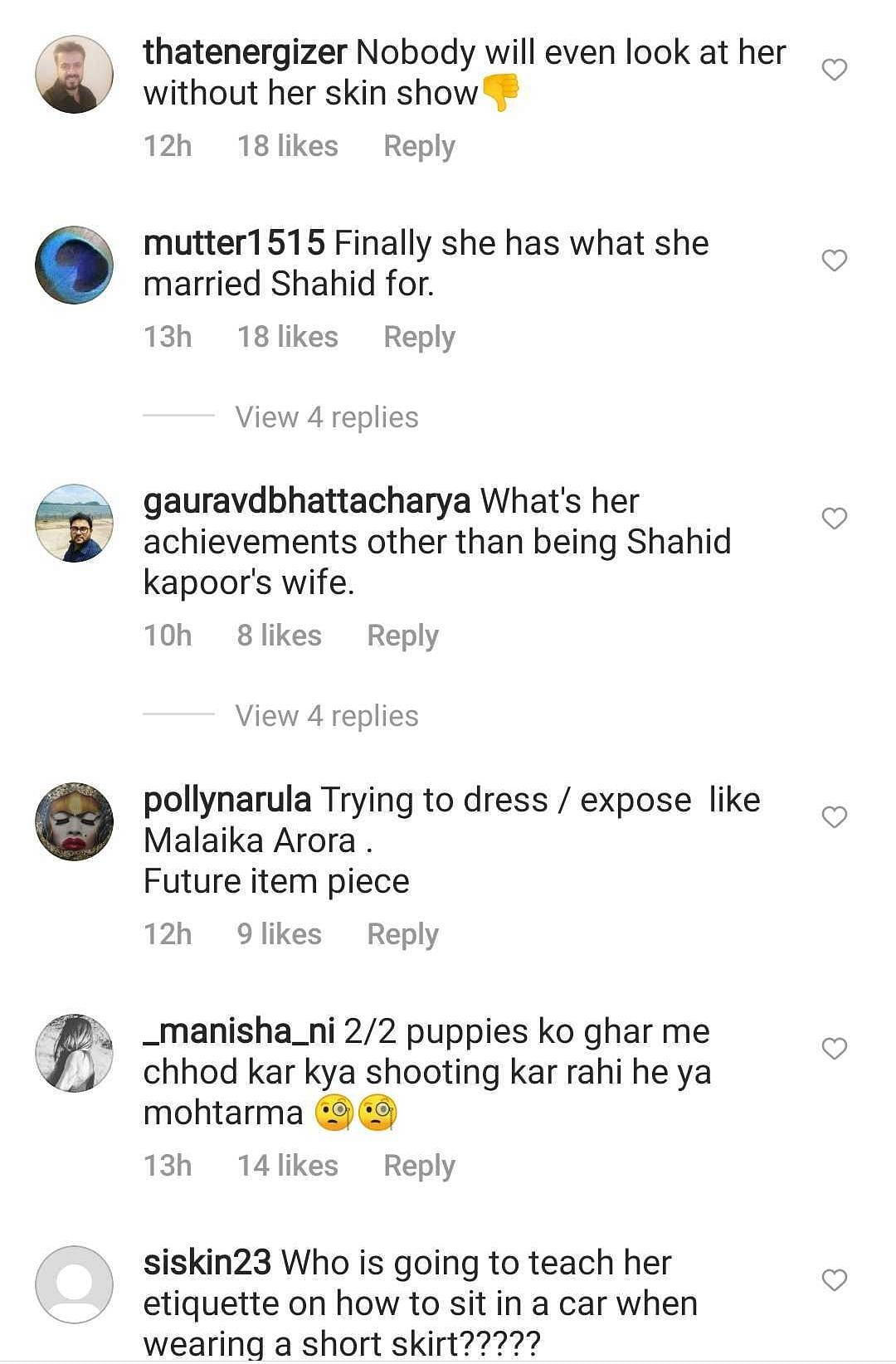 Watch: Shahid Kapoor's wife Mira trolled for wearing her 'daughter's skirt' in public