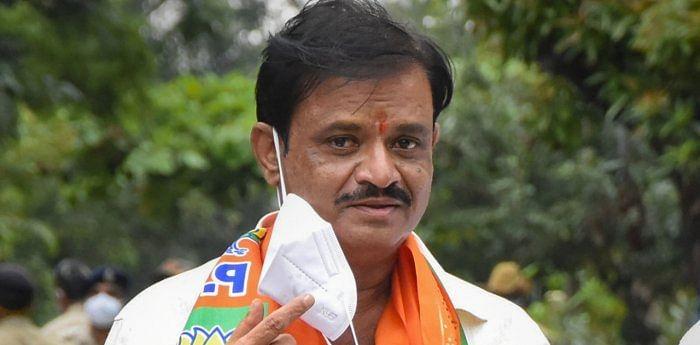 BJP MLA Munirathna Naidu