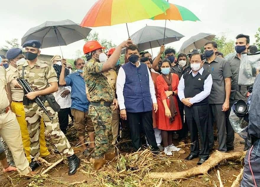 Mumbai: Centre will help people in  rain-hit districts, assures Narayan Rane