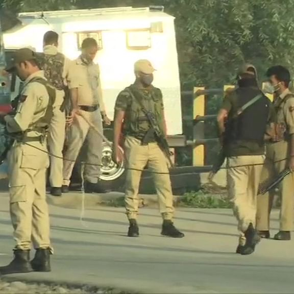 Jammu and Kashmir: Two LeT terrorists killed in encounter with security forces in Srinagar's Danmar