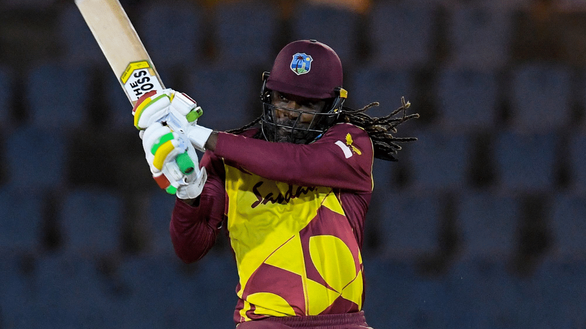 At 41, Chris Gayle becomes first player to smash 14000 runs in T20s; netizens call him 'legend'