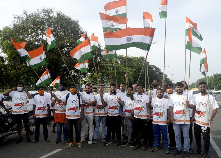West Bengal: Despite denial, BJP organises 'Cheer4India' in Kolkata to show respect to Indian players in Tokyo Olympics