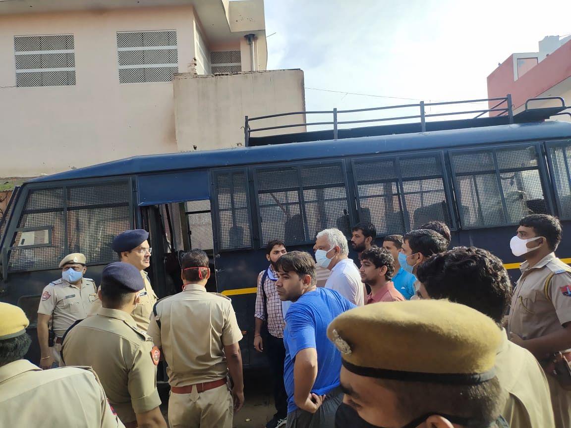 Rajasthan: Police arrested BJP MP Kirori Meena for disturbing the peace in Jaipur