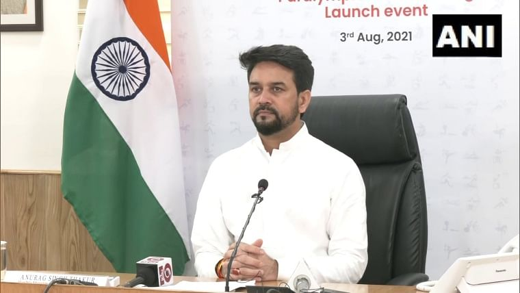 Watch: Union Sports Minister Anurag Thakur launches official theme song 'Kar De Kamaal Tu' in support of Team India for 2020 Tokyo Paralympics