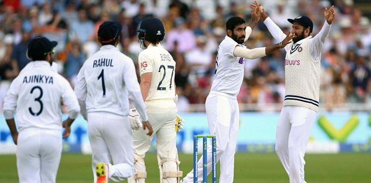 IND vs ENG, 1st Test, Day 1: Jasprit Bumrah, Mohammed Siraj shine as hosts lose two wickets in first session