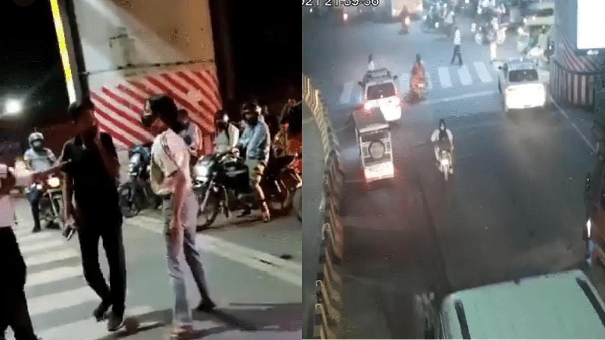Watch: Video of woman hitting cab driver goes viral; Twitterati demand #ArrestLucknowGirl