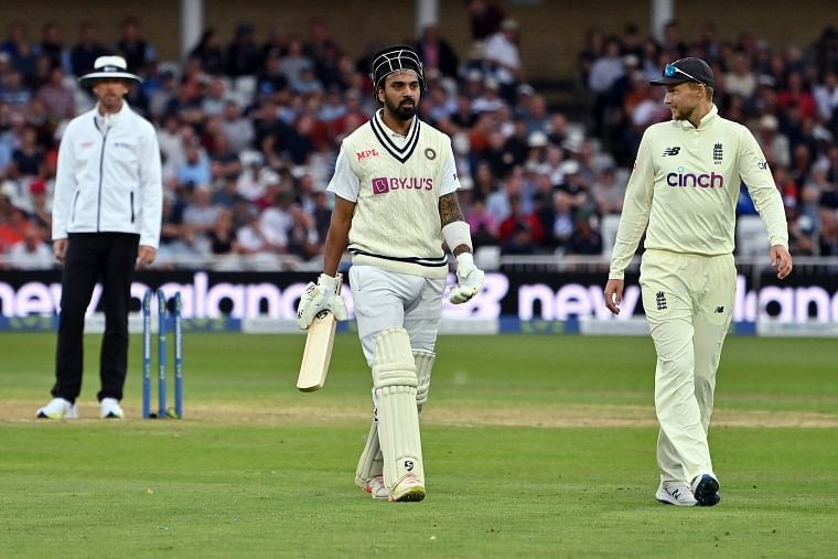 INS vs ENG, 1st Test, Day 2: Rain forces early stumps; KL Rahul shines but 'ageless' James Anderson swings it back in favour of England