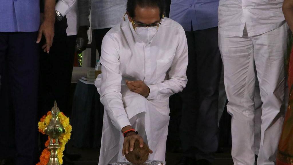 Mumbai: CM Uddhav Thackeray lays foundation stone for redevelopment of BDD Chawls - Watch video