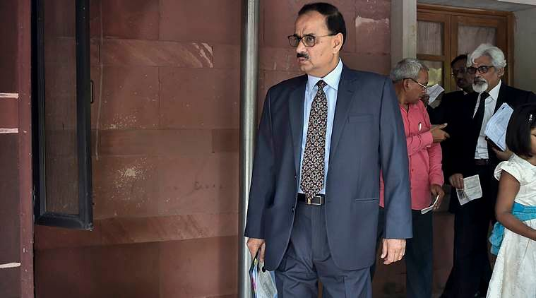 Home ministry recommends disciplinary action against former CBI director Alok Verma for violating service rules