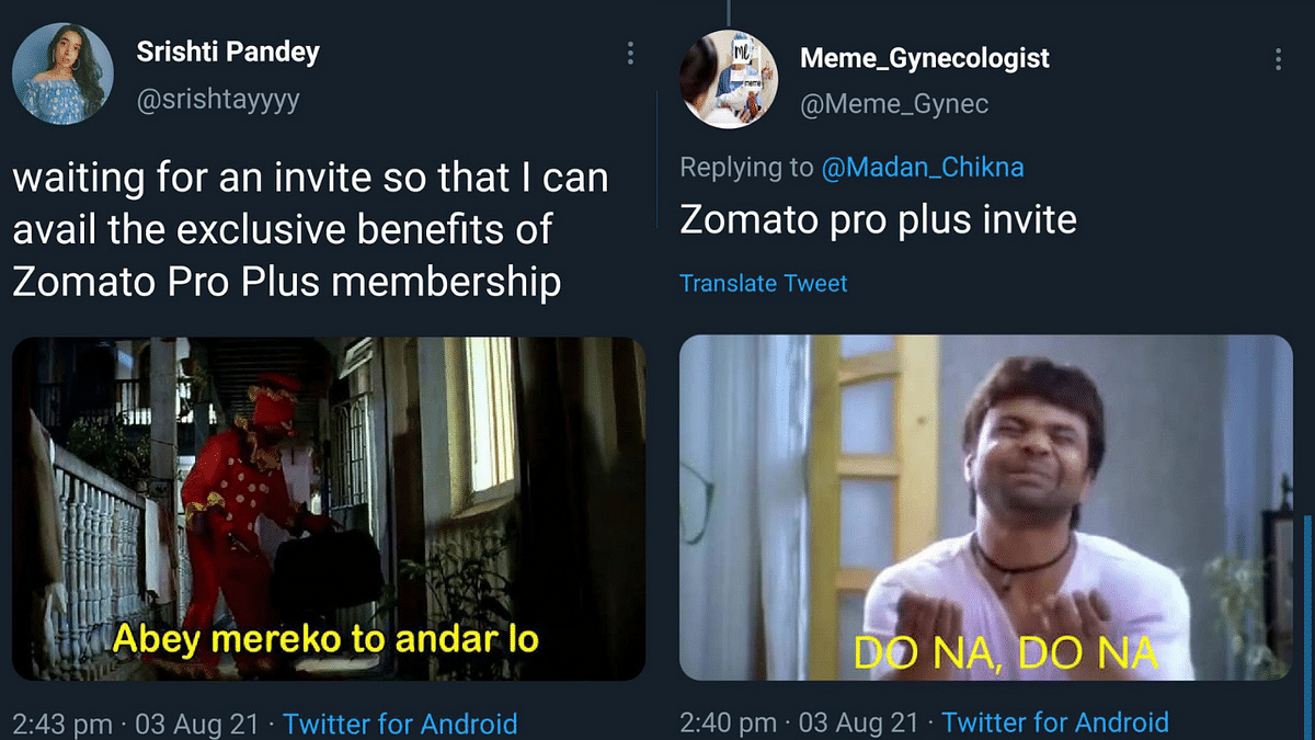 Zomato launches limited edition 'Pro Plus' membership for selected customers; Twitterati respond with petty memes