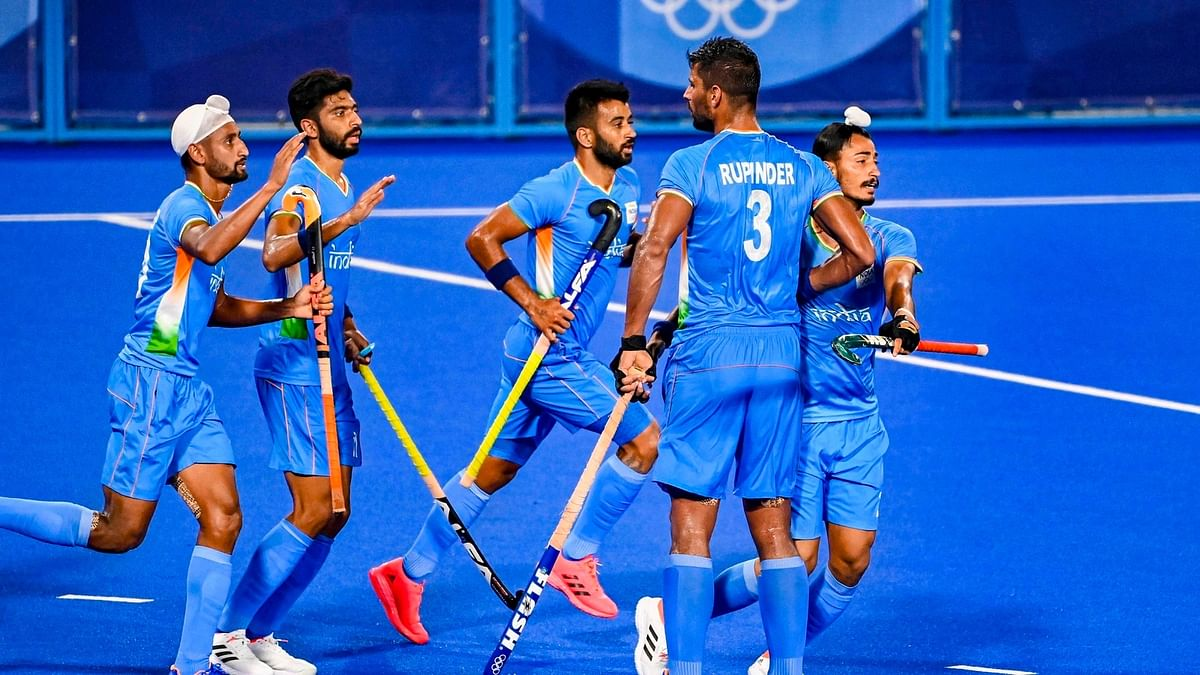 Watch: Indian men's hockey team beats Germany 5-4 to win bronze medal, clinches first Olympic medal in 41 years