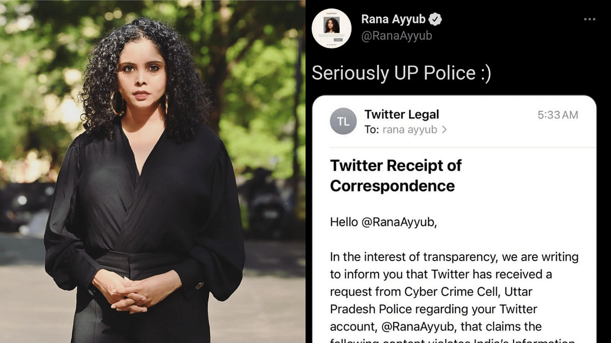 'India trying to shut down dissent': Twitterati criticise UP Police Cyber Crime Cell for reporting journalist Rana Ayyub's tweet