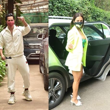 Paparazzi Files: Sara Ali Khan, Varun Dhawan, Malaika Arora and other b-town stars snapped in Mumbai