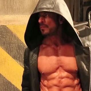Shah Rukh Khan poses shirtless for Dabboo Ratnani's 2021 calendar shoot