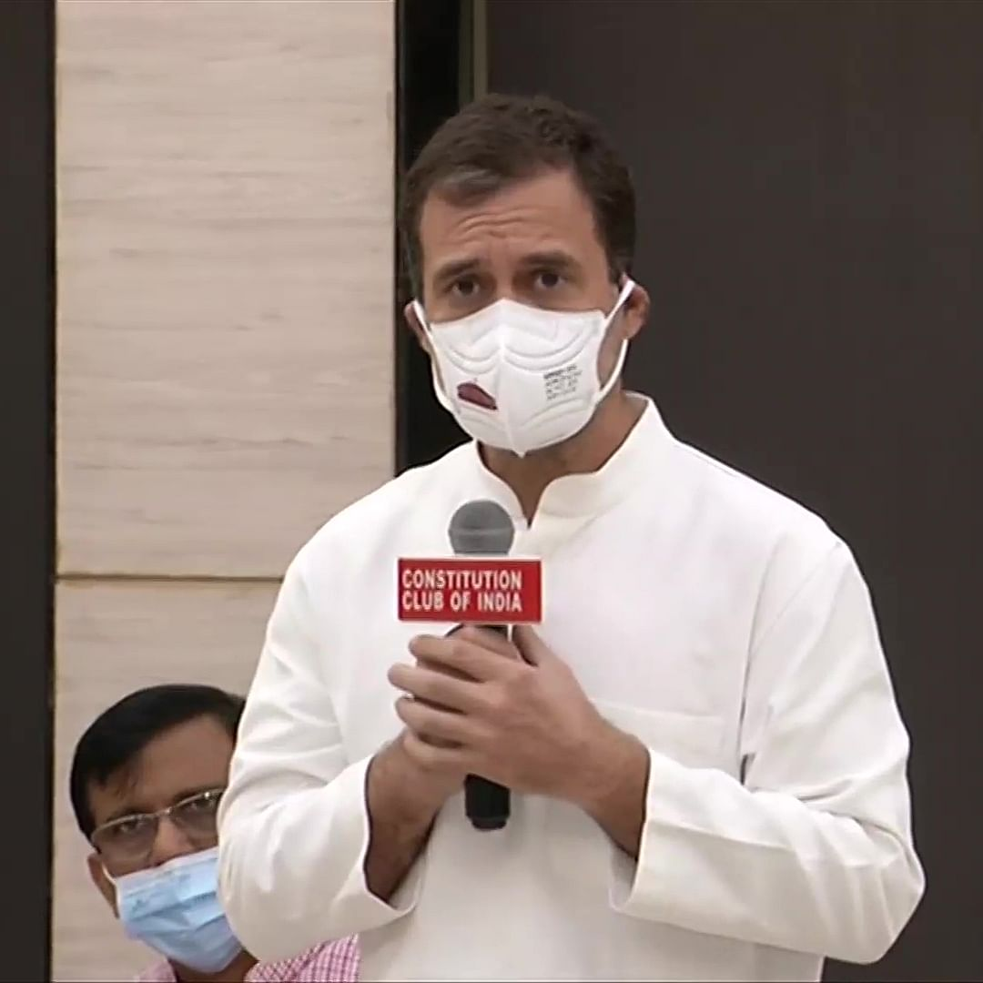 'Most important thing in that we unite the voice of people': Rahul Gandhi at Opposition meeting
