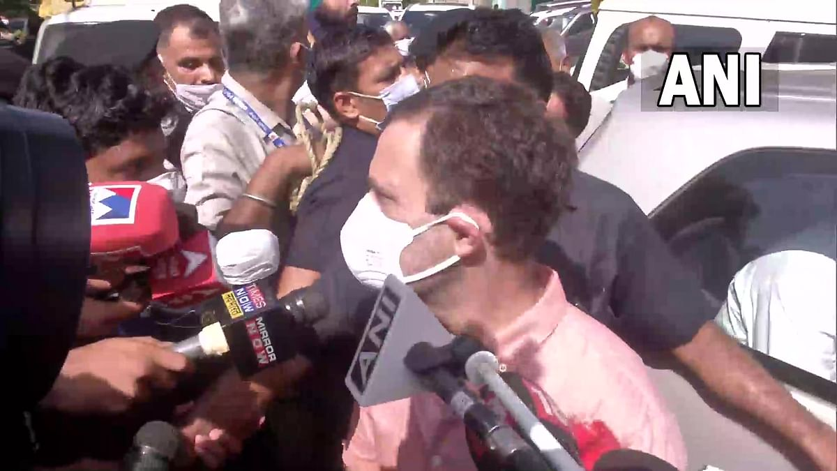 Delhi minor rape: Rahul Gandhi meets family of the 9-year-old girl raped, killed & cremated in Nangal