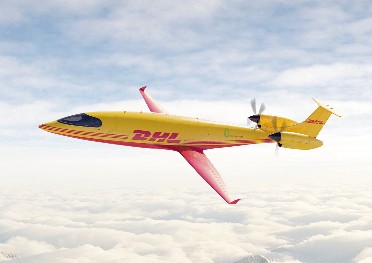 DHL Express buys 12 electric cargo planes from US-based Eviation