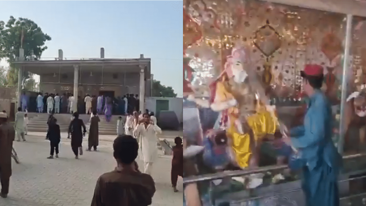 Watch: Hindu temple in Pakistan vandalised by hundreds after minor who urinated in seminary gets bail