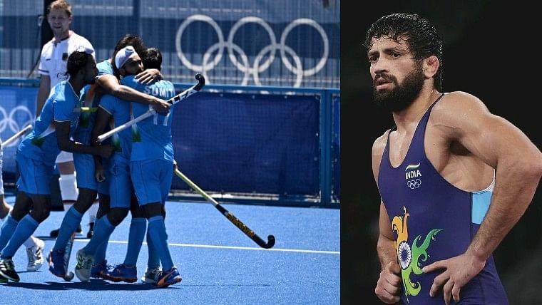 India at Tokyo Olympics Day 13: India men's hockey team wins bronze; wrestler Ravi Dahiya takes home silver - Highlights