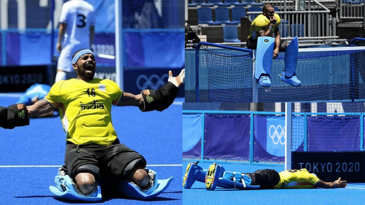 'The boss... Sreejesh': Indians flood Twitter with love for 'the wall' as men's hockey team bags bronze at Olympics; See photos