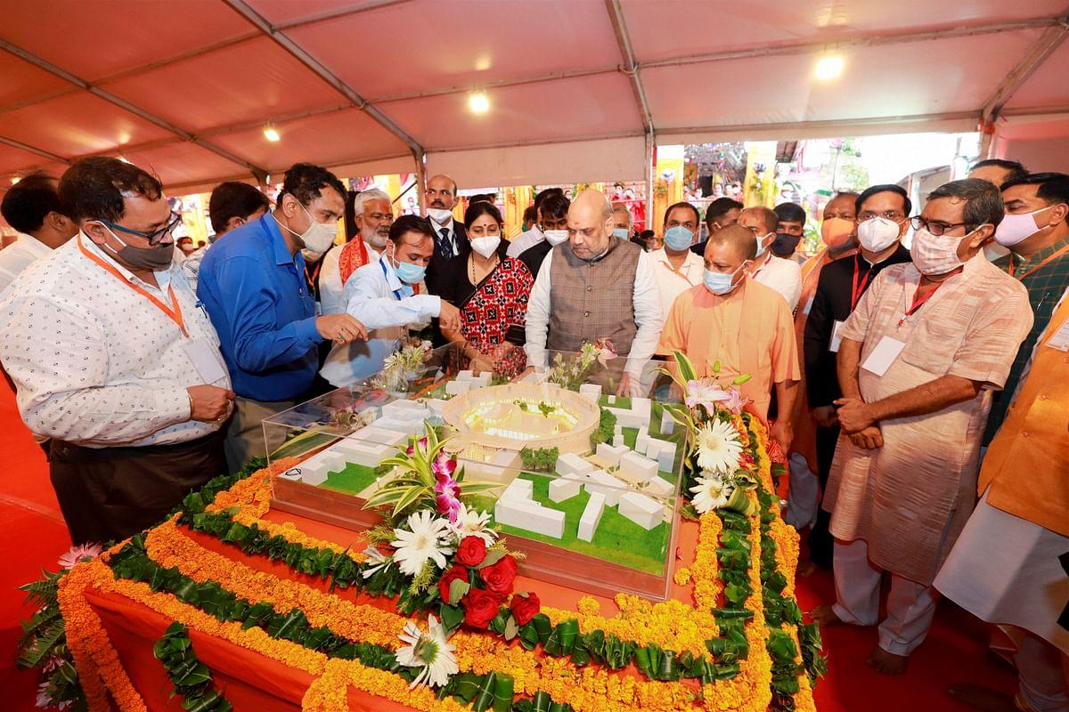 Uttar Pradesh: HM Amit Shah lays foundation of Vindhyachal corridor project