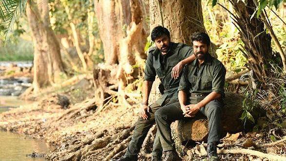 Chiranjeevi and Ram Charan's 'Acharya' shoot almost over