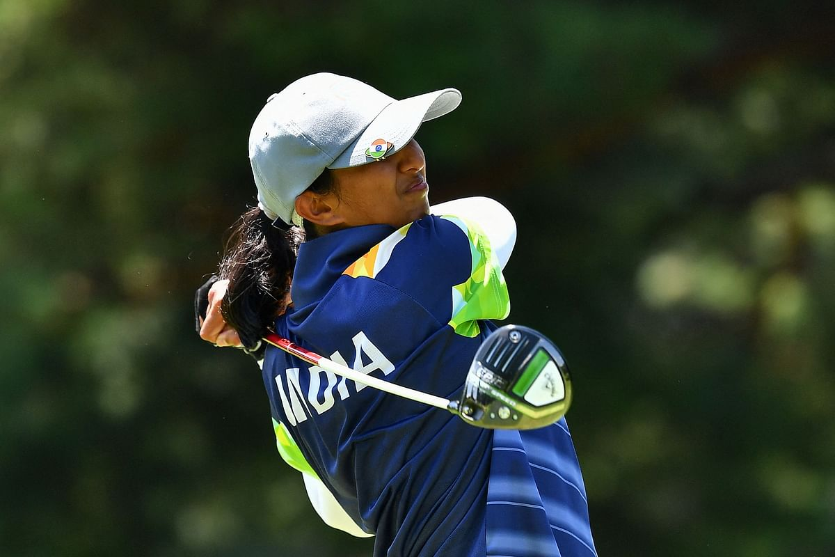 Aditi among the stardom on greens: Solid start by Bengaluru golfer as she is placed second ahead of big names