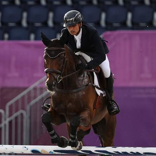 Twitter lauds as India's Equestrian Fouaad Mirza qualifies for Eventing individual finals