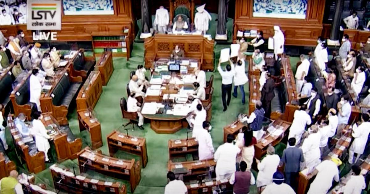 Parliament Monsoon Session Live Updates: Lok Sabha adjourned till 3.30 pm