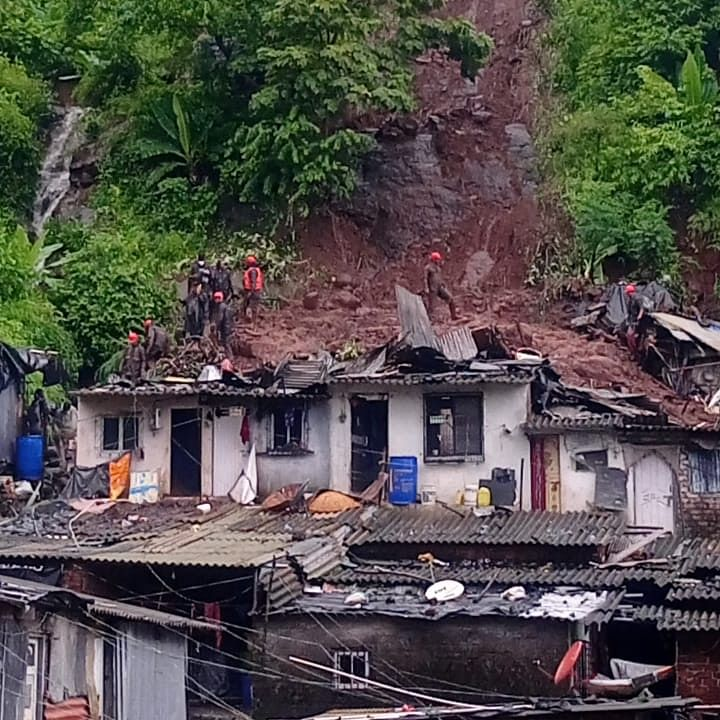 Thane: 32 'dangerous' huts on Kalwa hills issued notice