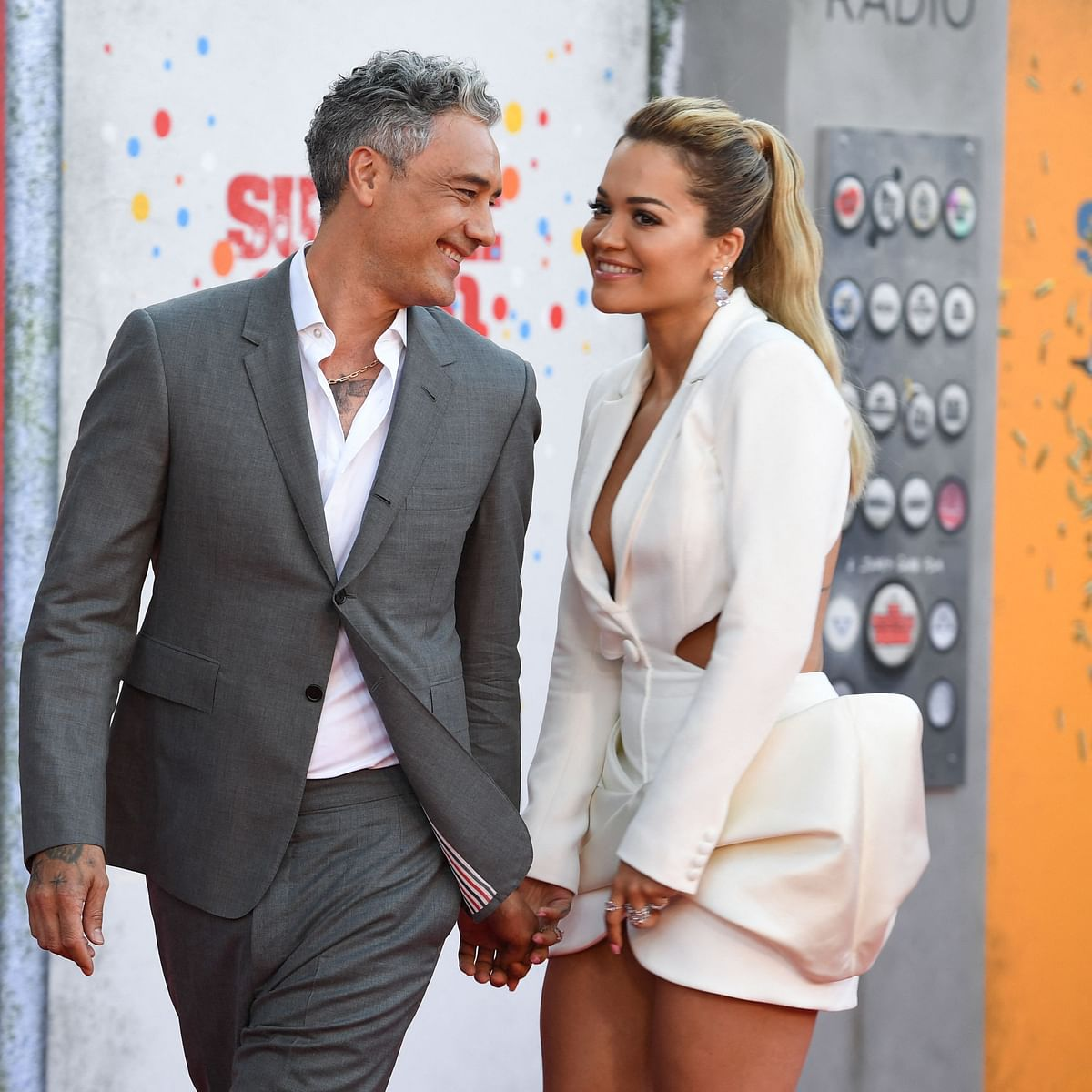 Rita Ora, Taika Waititi make their romance official; check out PDA at 'Suicide Squad 2' premiere
