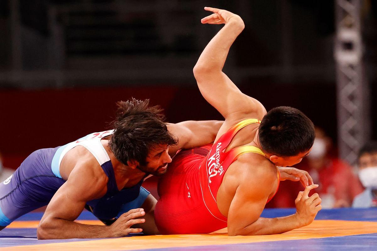Wrestling: Bajrang Punia beats Iran's Morteza to make Tokyo Olympics semi-final