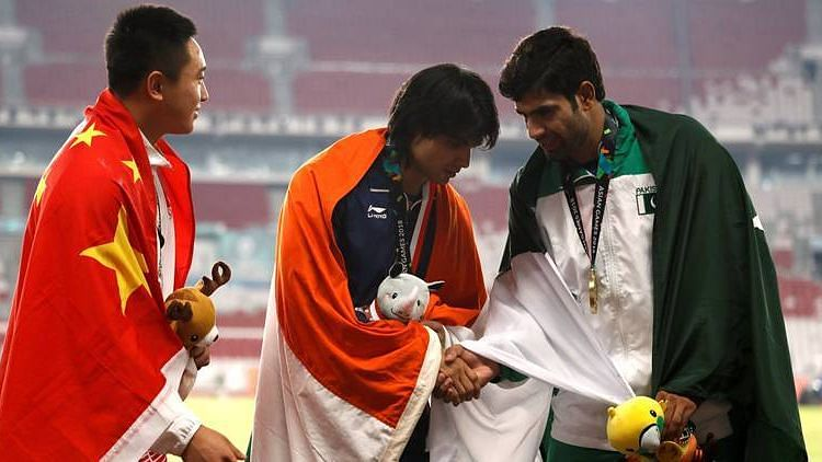 Tokyo Olympics: India's Neeraj Chopra and Pakistan's Arshad Nadeem top respective groups in javelin throw Shivpal Singh bows out