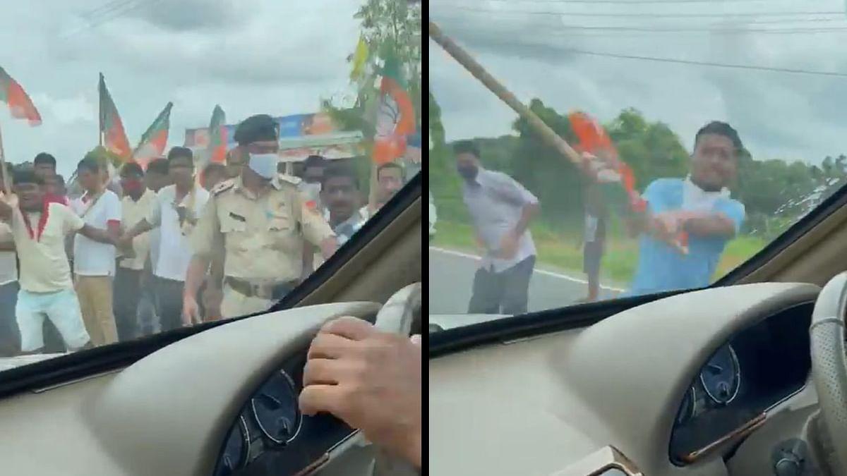 'Democracy destroyed in Tripura': TMC MP Abhishek Banerjee's car vandalized during visit; slams CM Biplab Deb