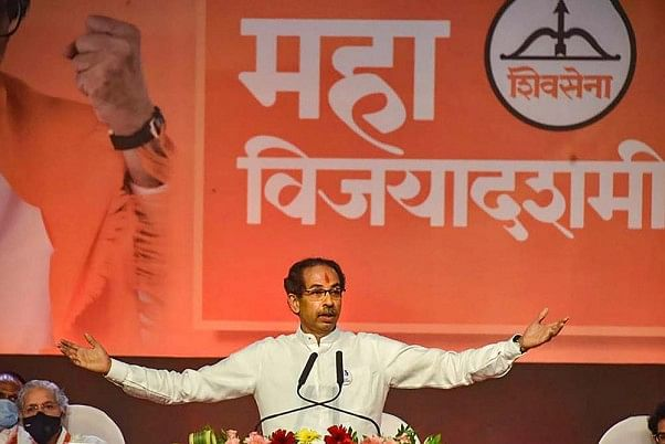 'End is near for BJP in Maharashtra': Sena slams party over 'demolish Shiv Sena Bhavan' remark by MLC Prasad Lad