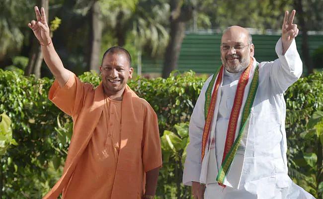 'Uttar Pradesh tops in law and order': HM Amit Shah lauds CM Yogi Adityanath