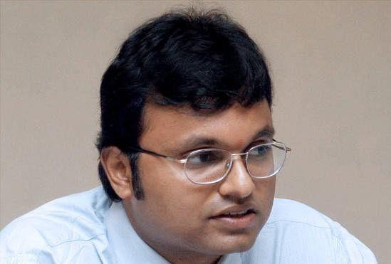 ED notice to Chidambaram's  son Karti for forex violations