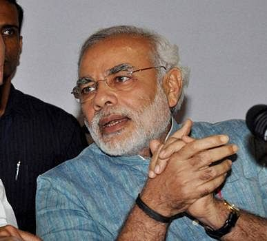 Congress stands for vote-bank politics, BJP for progress: Modi