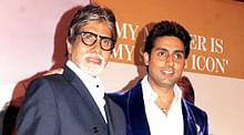 Abhishek calls senior Bachchan a 'magician'