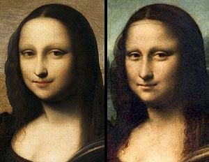 Is Mona Lisa faking her smile?