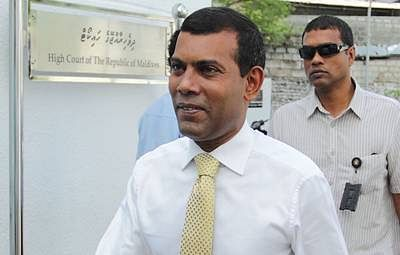 Mohammed Nasheed not to appeal 13-year jail term
